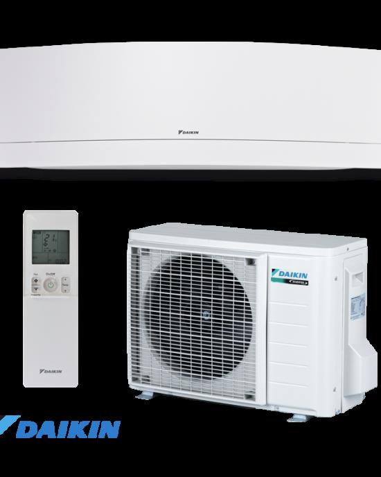 Инверторен климатик Daikin Emura FTXJ35MW / RXJ35M 12000 BTU WI-FI