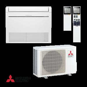 Инверторен климатик Mitsubishi Electric MFZ-KJ25VE / MUFZ-KJ25VE - подов тип