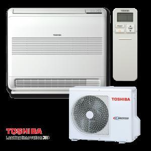 Инверторен климатик Toshiba Bi-flow RAS-B13U2FVG-E1 / RAS-13PAVSG-E - подов тип