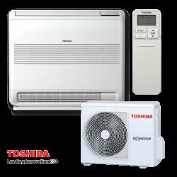Инверторен климатик Toshiba Bi-flow RAS-B18U2FVG-E1 / RAS-18PAVSG-E - подов тип