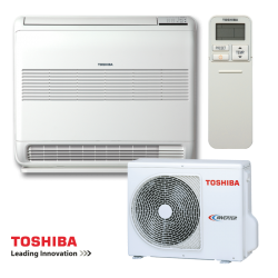 Инверторен климатик Toshiba Bi-flow RAS-B10U2FVG-E1 / RAS-10PAVSG-E - подов тип