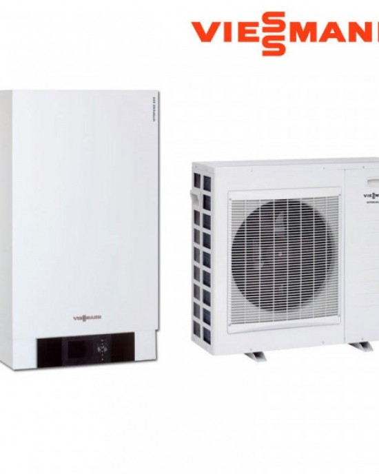 ТЕРМОПОМПА VIESSMANN VITOCAL 100-S 230 V, Qохл/от.=11.6/12.1 kW ОТОПЛЕНИЕ И ОХЛАЖДАНЕ Z017069